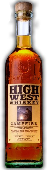 High West Campfire Whiskey: a blend of straight bourbon, straight rye, and blended malt Scotch
