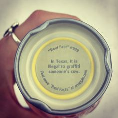 Lol! I love this Snapple fact.