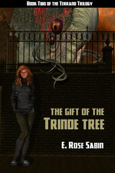 The second volume of the Terrano Trilogy, The Gift of the Trinde Tree  Cover art is by Deron Douglas.