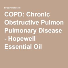 12 Best Essential oils for copd images in 2018 | Essential oils for