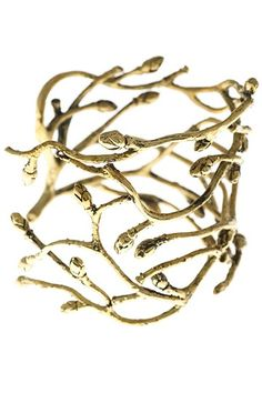 BJÖRK - big bracelet in adjustable size with branches from johanna-n.com