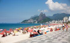 A praia de Ipanema é uma das mais badaladas do Rio de Janeiro - Foto: Getty Images