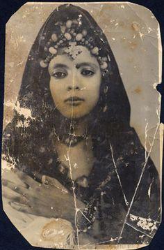 Vintage Africa Maure (Mariage) Tamba - photo originale