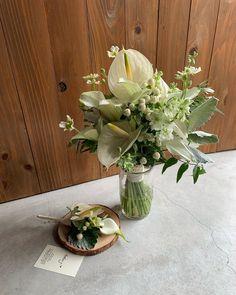 Atelier.jeiさんはInstagramを利用しています:「#アンスリウム ブーケㆍブートニア ㆍ ㆍ ㆍ ㆍ オーダーありがとうございます❤︎ ㆍ ㆍ ㆍ ㆍ ㆍ 納期についてHPのprice…」 Wedding Bouquets, Table Decorations, Flowers, Instagram, Home Decor, Atelier, Homemade Home Decor, Wedding Brooch Bouquets, Wedding Flowers