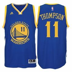 Klay Thompson Jersey: adidas  Royal Blue Swingman #11 Golden State Warriors NBA Jersey