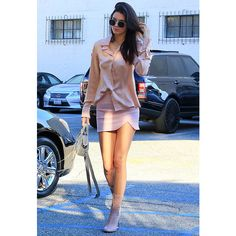 Celebrity Street Style ❤ liked on Polyvore featuring people