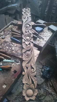 40 Ideas for wood carving wall art diy Carved Wood Wall Art, Art Carved, Wood Art, Dremel Wood Carving, Wood Carving Art, Wood Carving Designs, Wood Carving Patterns, Cnc Wood, Woodworking Wood