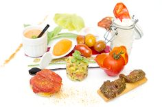 Tomate dans tous ses états et dans toute sa diversité (à base de 15 variétés de Tomates), Domaine de Bournissac aux Paluds de Noves