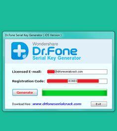 wondershare dr fone licence key