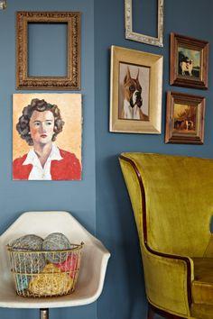Peek Into A Brooklyn Rental Studio via DesignSponge #decor