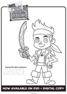 Jake and the Never Land Pirates coloring sheets