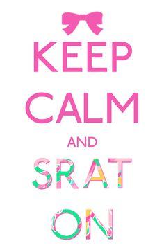 definitely words every sorority girl should follow :)