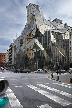 Edificio Osakidetza. Bilbao. © Inaki Caperochipi Photography Types Of Architecture, Space Architecture, Amazing Architecture, Amazing Buildings, Modern Buildings, Bilbao, Basque Country, Spanish, Stage