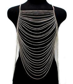 PLUS SIZE 3X 2X 1X womens Multi Layers Chains by AllSizeHOTChicks, $34.99