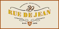 39 Rue de Jean - Charleston.  What a treat and fun atmosphere dining outside for lunch! I had a Salad Maison with Duck Confit - fantastic! Our table also split an order of truffle potato chips that were especially delicious!