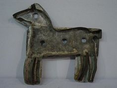 Large horse cookie cutter.
