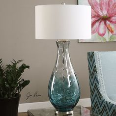 "Found it at Wayfair - Vescovato 38"" H Table Lamp with Drum Shade"