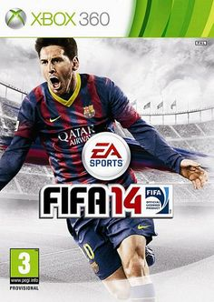 """Official FIFA 14 cover for North America featuring Javier """"Chicharito"""" Hernandez and Gay messi Xbox 360, Playstation, Ps3, Ea Fifa, Fifa 14, Wii Games, Free Games, Mundo Dos Games, Game Prices"""
