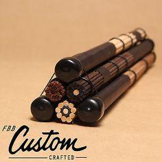 3Pairs FreePost! fbb's Handmade: 5A 5B drum brushes rods drumsticks brush sticks