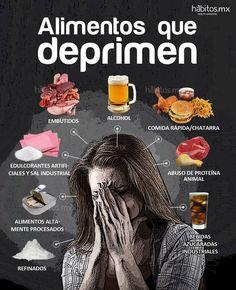 Alimentos que Deprimen.