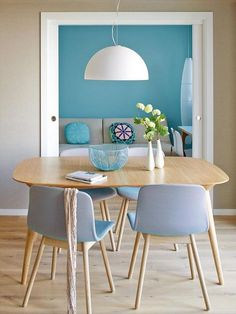 Pintura de ambientes com cores que combinam entre si