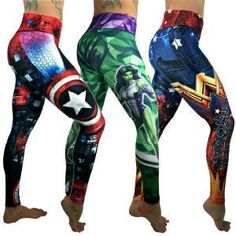 These beautiful printed compression leggings that are sure to become your go-to workout pants. Leggings Sale, Best Leggings, Workout Attire, Workout Wear, Superhero Leggings, Workout Clothes Cheap, Workout Clothing, Yellow Leggings, Scene Outfits