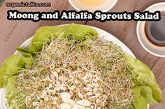 Salad Recipe: Moong and Alfalfa Sprouts Salad - organictalks.com