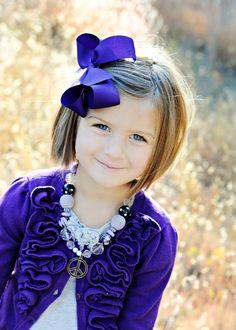 Very cute little girl hair cut idea