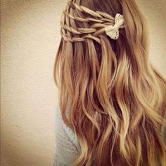 love it, may need to be my next date hair hair hairstyle Ombré Hair, Hair Day, Her Hair, Braid Hair, Wavy Hair, Coiffure Hair, Pretty Hairstyles, Girl Hairstyles, Fashion Hairstyles