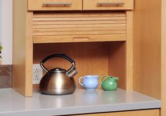 kitchen cabinets with roller shutter - Google Search
