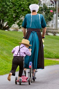 Amish-scooter-lessons