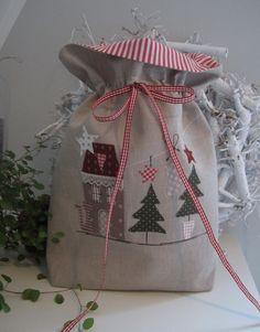 *Weihnachtsbeutel zum Befüllen*