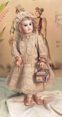 Bon-Bons For The Bonnet Ladies of Tiffin: 94 Portrait Bebe,Size 11,by Jumeau