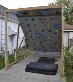 Building a bouldering wall   Our Life Outside