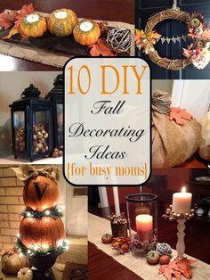 10 Easy DIY Fall Decorating ideas