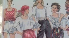 Simplicity 8493 Misses' Capri Pants or Shorts by starspatternstore