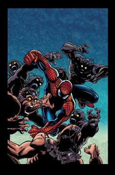 #Spiderman #Fan #Art. (Spiderman trade cover) By: Tom Smith. (THE * 5 * STÅR * ÅWARD * OF: * AW YEAH, IT'S MAJOR ÅWESOMENESS!!!™)[THANK Ü 4 PINNING!!!<·><]<©>ÅÅÅ+(OB4E)