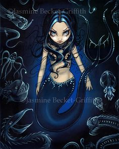 artist jasmine becket griffith mermaid strangeling | Strangeling: The Art of Jasmine Becket-Griffith