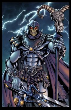 Skeletor versus Thor Who wins ? I go with Skeletor . Evil Villains, Superhero Villains, Marvel Characters, Comic Books Art, Comic Art, He Man Thundercats, Nicky Larson, Aliens Funny, Morning Cartoon