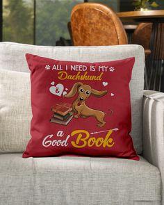 All I Need Is My Dachshund Dog A Good Book Mugs - True Red miniature dachshund dapple, puppy dog eyes, dachshund crafts #dogs #petsmart #petco, dried orange slices, yule decorations, scandinavian christmas Dapple Dachshund Puppy, Black Dachshund, Dachshund Puppies For Sale, Dachshund Gifts, Funny Dachshund, Daschund, Puppy Dog Eyes, Puppy Clothes, Yule Decorations