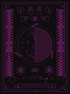 Cool, Graphic Posters Inspired by 'Dark Side of the Moon'