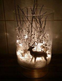 White Christmas Lights, Noel Christmas, Rustic Christmas, Christmas Projects, Simple Christmas, Christmas Ornaments, Beautiful Christmas, Christmas Lanterns, Silver Christmas