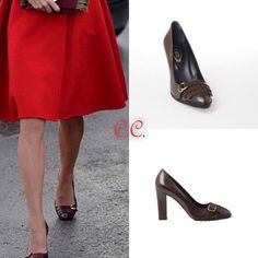 |September 28, 2016| — Catherine, Duchess of Cambridge wore a pair of Leather Pumps by Tod's. The pumps are currently available and cost €235.25 (or $377)  #RoyalVisitCanada #DuchessKateStyle  #duchessofcambridge #dukeofcambridge #katemiddleton #princegeorge #princesscharlotte #royalvisitcanada #canada #british #britishroyalfamily #royalfamily #royalty #instaroyal