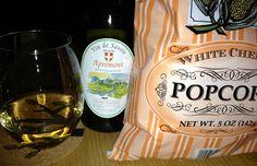 White Cheddar Popcorn & Vin de Savoie ...