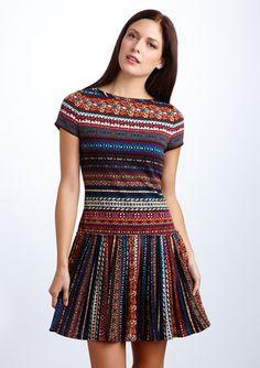 nine west fair isle knit dress. i LOVE this!