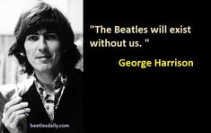 10 Significant George Harrison Quotes With George Harrison Photographs | The Beatles