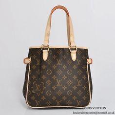 92afc089f878 Louis Vuitton M51156 Batignolles Shoulder Bag Monogram Canvas