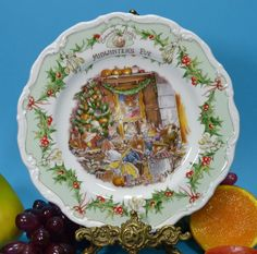 ROYAL DOULTON BRAMBLY HEDGE Jill Barklem Gift Collection PLATE - MIDWINTERS EVE #Plates