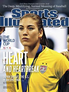 On This Week's Cover: Hope Solo - Soccer Star