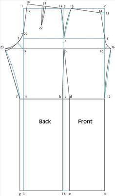 Como o projecto de um padrão «Pant Básico Costura & Bordados